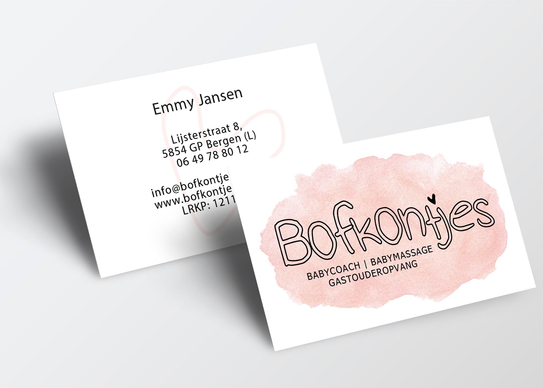 Bofkontjes-babycoach-visitekaartje